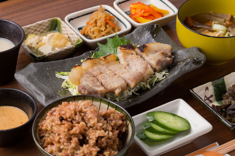 お食事処「俵や」の健康メニュー