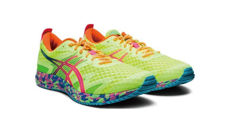 アシックス社のランニングシューズに結ばない靴紐「キャタピーAIR+」が採用