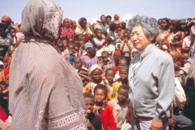 ソマリア難民を訪ねたエチオピア視察c(1991年) c UNHCR / A. Hollman