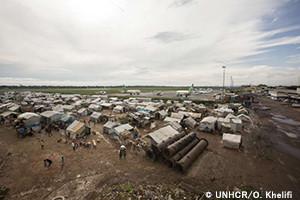 UNHCRが中央アフリカ共和国での...