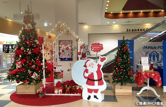 ブルメールHAT神戸クリスマスチャリティーツリーイベントの様子
