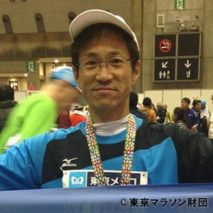 東京マラソン2016チャリティランナーの方のお写真
