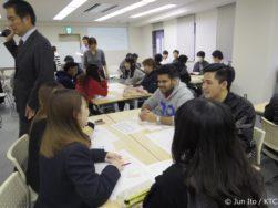 留学生 KTC 出張授業