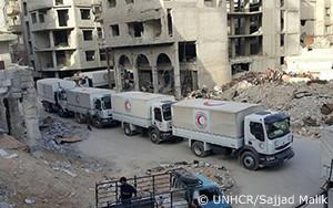 Q&A:シリアの東グータは「大惨事となる危機に瀕しています」