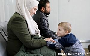 避難先で生まれた新生児が100万人に達したシリア難民への援助計画