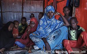 干ばつにより治安が悪化し、ソマリア人がエチオピアに避難