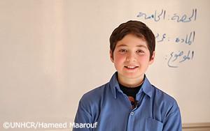 UNHCRとパートナー団体、シリア・アレッポ最古の学校を修復