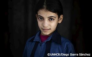 シリア難民の少女に重くのしかかる9年の紛争