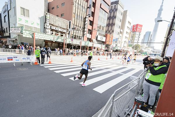 東京マラソン途中経過の様