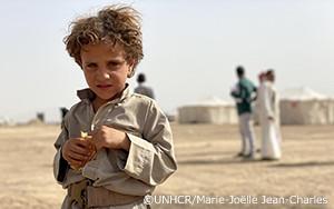 5年間の紛争を経て、新たに避難を強いられるイエメンの人々