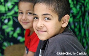 新型コロナウイルスによる学校閉鎖で打撃を受ける難民の子どもたち