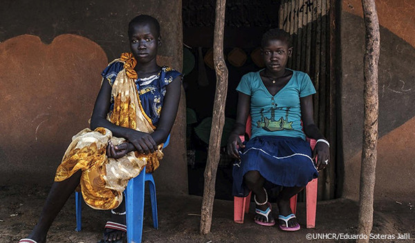 心の傷を乗り越え、エチオピアで新しい生活を始める南スーダンの姉妹
