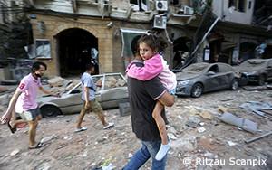 爆発の余波にあるレバノンのベイルートへの支援を急ぐUNHCR