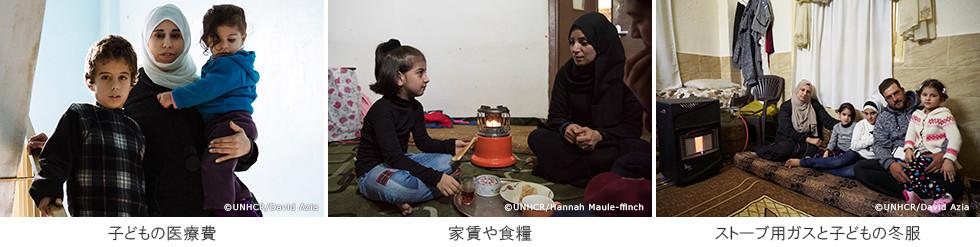 子どもの医療費 家賃や食糧 ストーブ用ガスと子どもの冬服