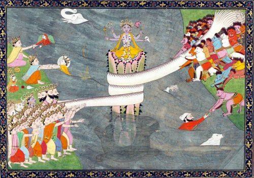 インド神話に登場する蛇神ヴァースキ