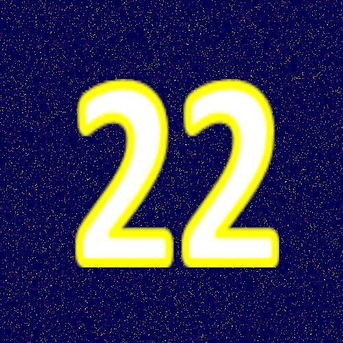 運命数22