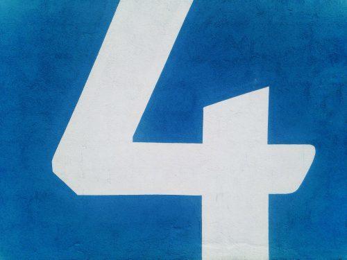 運命数,4,性格