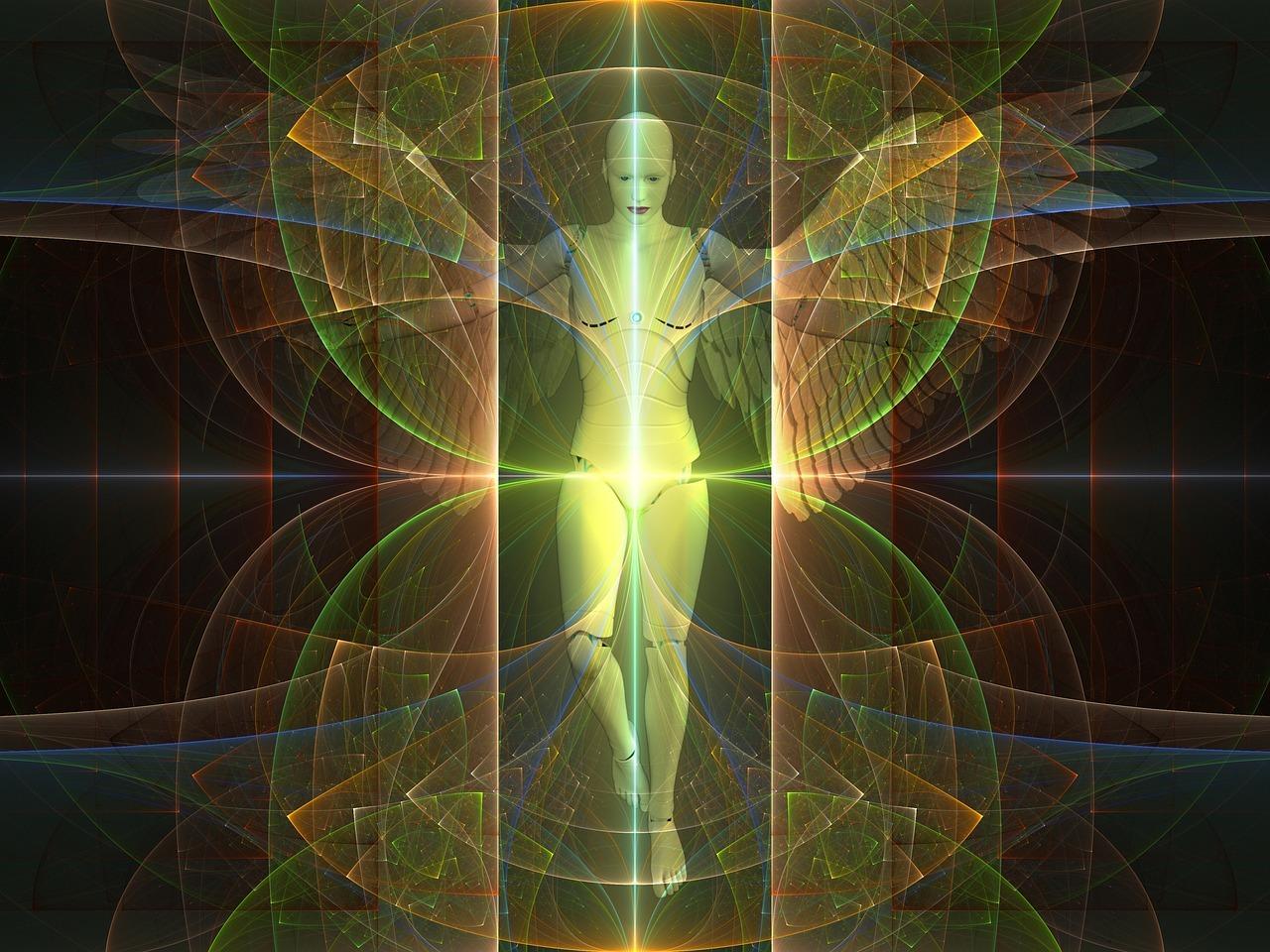 霊的,神話,超越,救済