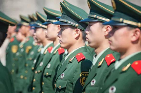 中国,国慶節,祝う,軍事,パレード,不定期,開催