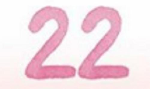 いわゆる自己中心的な誕生数「22」の人ともそりが合わない