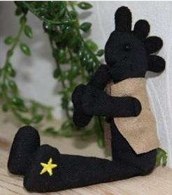 ココペリ人形ブラック