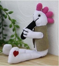 ココペリ人形ホワイト