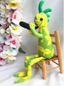 ココペリ人形グリーン