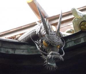 荏原神社の龍神