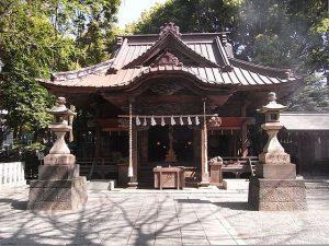 五龍が守る東京の田無神社