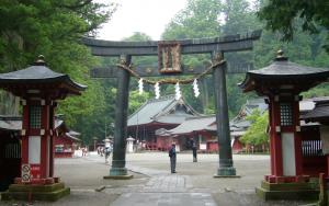 霊気漂う 二荒山神社