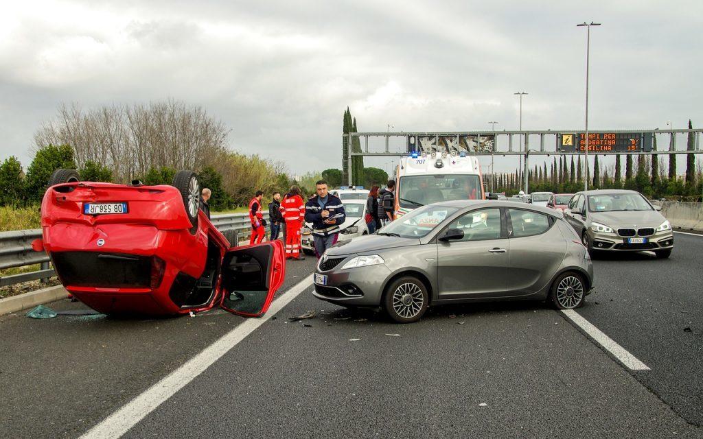 車同士の交通事故