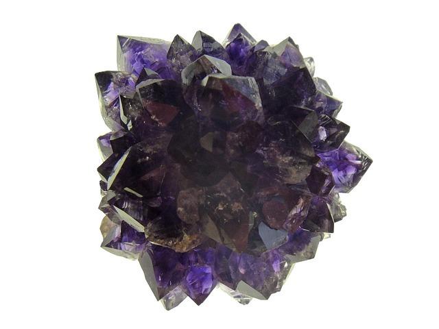 紫色のパワーストーン