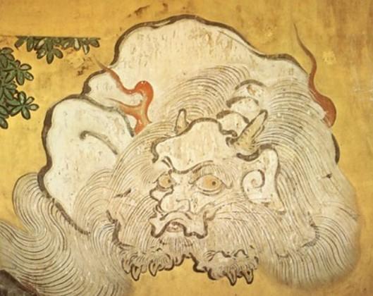 日光東照宮の白澤図 加納探幽作