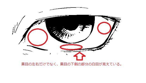 三白眼とは