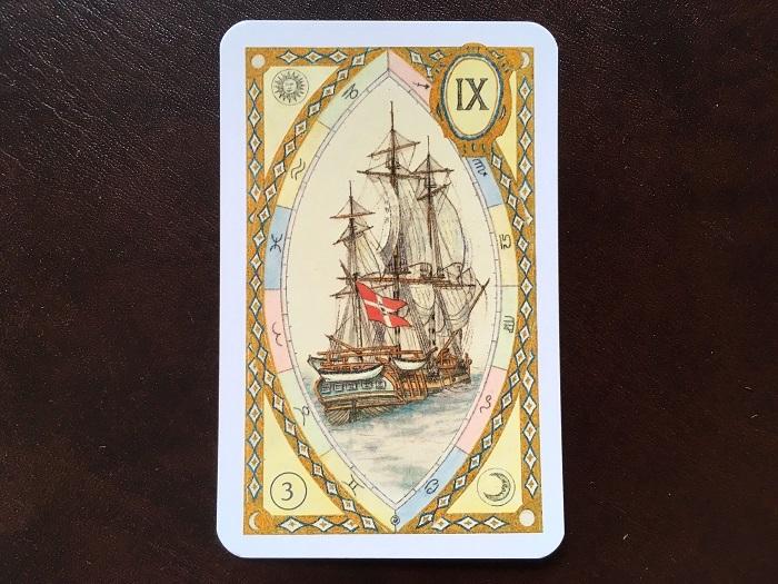 ルノルマンカード・船はどんな意味のカード?