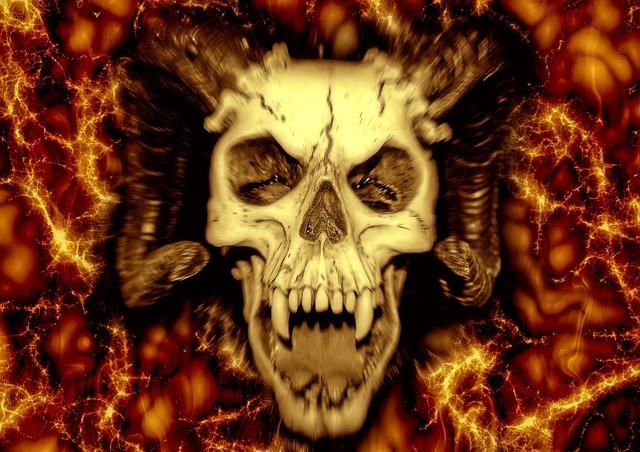 悪魔の頭骨