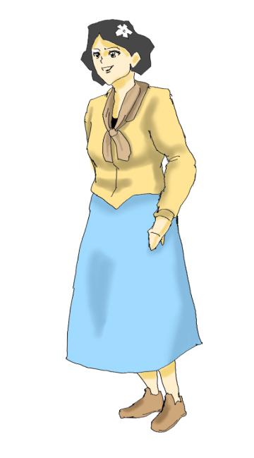 土星人マイナスのキャラクター