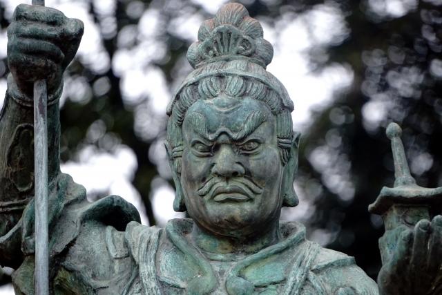 毘沙門天の仏像