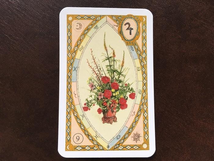 ルノルマンカード・花束はどんな意味のカード?