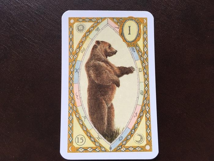 ルノルマンカード・クマはどんな意味?