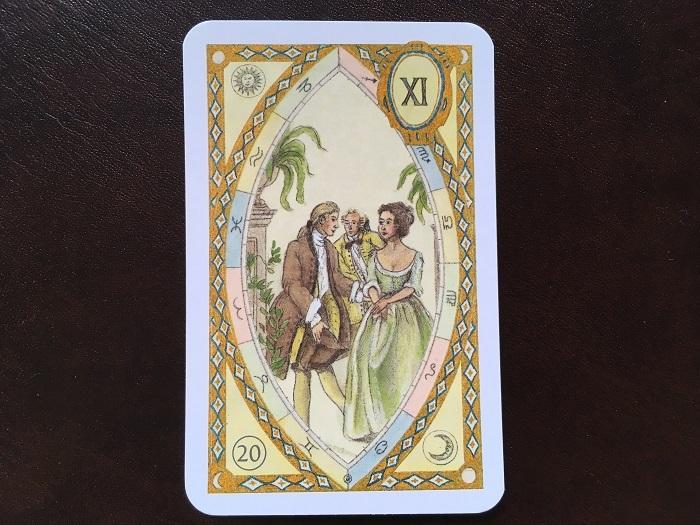ルノルマンカード・庭園はどんな意味のカード?
