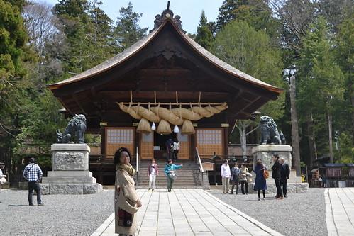 建御名方神を信仰する神社