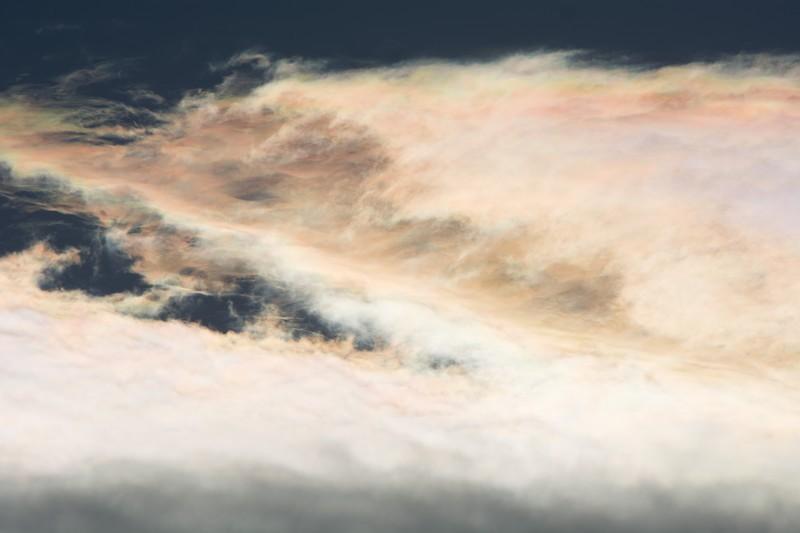 彩雲は吉兆