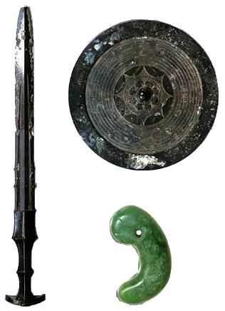 三種の神器のイメージ