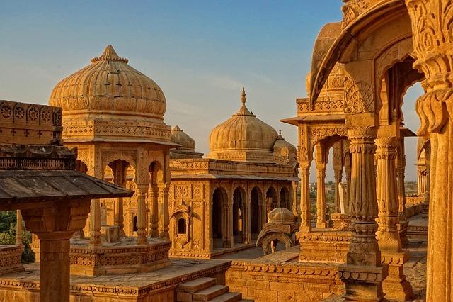 インドの歴史的建造物