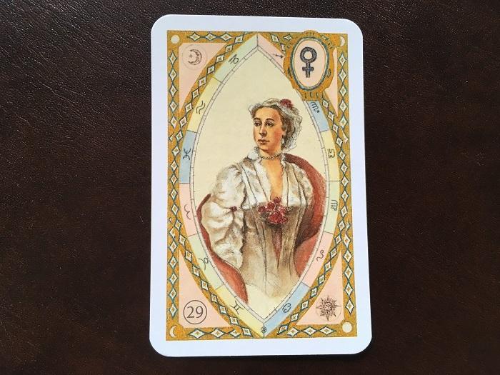 ルノルマンカード・淑女はどんな意味のカード