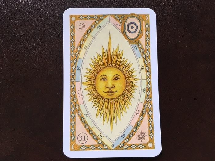 ルノルマンカード・太陽はどんな意味のカード?