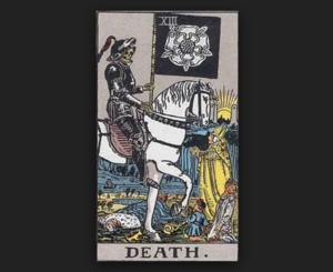 タロットカード・リーディング「死神」を読み解く
