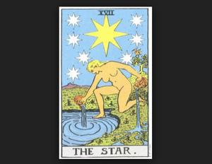 タロットカード・リーディング 「星」(スター)を読み解く