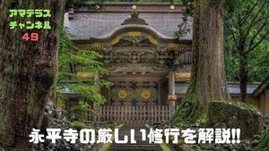 永平寺の修行とは?修行の内容や期間、厳しさについて解説
